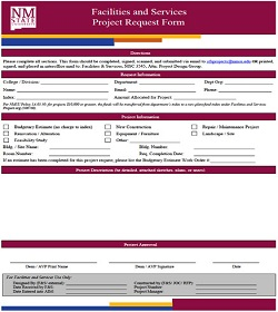6.3-Project Request Form-For In Text on Website